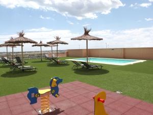 Apartotel Albufera | Terraza